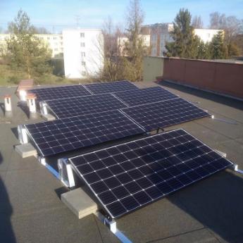 Fotovoltaická elektrárna - Vyškov,      reference firmy Solidsun.cz