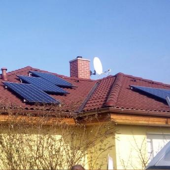 Fotovoltaická elektrárna - Náchod,      reference firmy Solidsun.cz