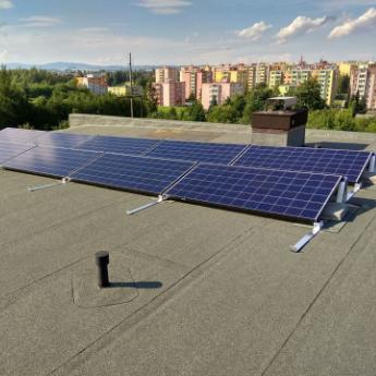 Fotovoltaická elektrárna - Jihlava,      reference firmy Solidsun.cz