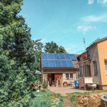 Fotovoltaická elektrárna - Olomouc,      reference firmy Solidsun.cz