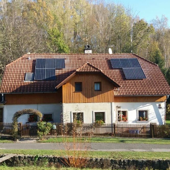 Fotovoltaická elektrárna - Bruntal,      reference firmy Solidsun.cz