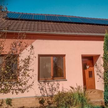 Fotovoltaická elektrárna - Bučovice,      reference firmy Solidsun.cz