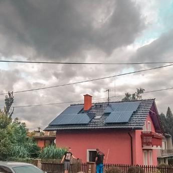 Fotovoltaická elektrárna - Mělník,      reference firmy Solidsun.cz