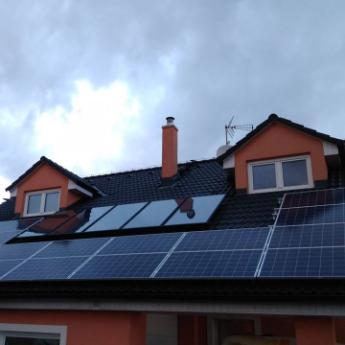 Fotovoltaická elektrárna - Příbor,      reference firmy Solidsun.cz