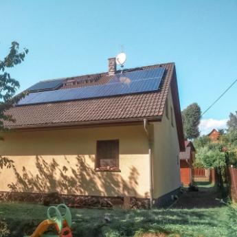 Fotovoltaická elektrárna - Jičín,      reference firmy Solidsun.cz
