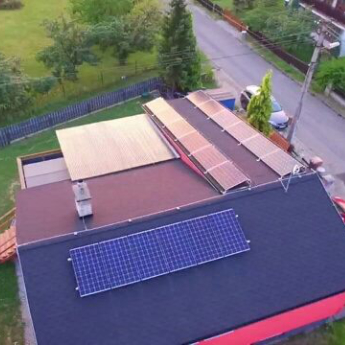 Fotovoltaická elektrárna - Chrudim,      reference firmy Solidsun.cz