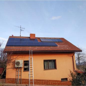 Fotovoltaická elektrárna - Nový Jičín,      reference firmy Solidsun.cz