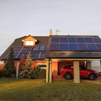 Fotovoltaická elektrárna - Brno,      reference firmy Solidsun.cz
