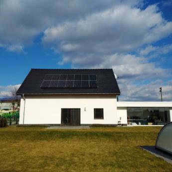 Fotovoltaická elektrárna - Boskovice,      reference firmy Solidsun.cz