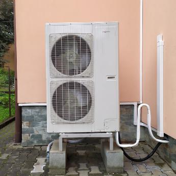 Tepelné čerpadlo - Brušperk,      reference firmy Solidsun.cz