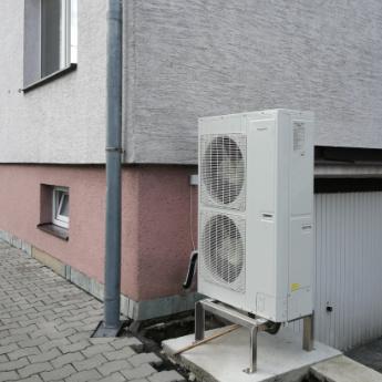 Tepelné čerpadlo - Karviná,      reference firmy Solidsun.cz